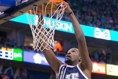 2015 NBA scores: Kevin Durant couldn't miss in his return to the court as the Thunder dominated the Jazz