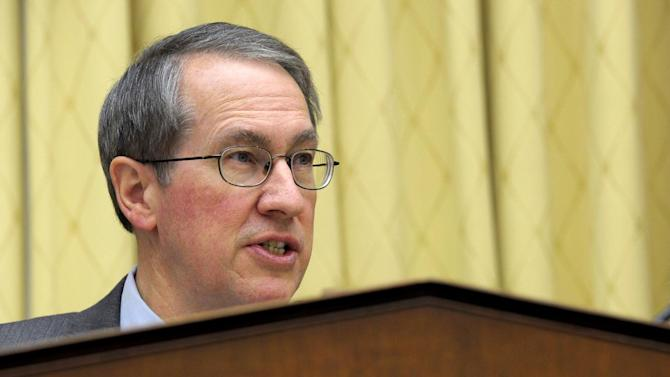 FILE - In this Feb. 5, 2013 file photo, House Judiciary Committee Chairman Rep. Bob Goodlatte, R-Va. speaks on Capitol Hill in Washington. House Republicans will take on the immigration issue in bite-size pieces, shunning pressure to act quickly and rejecting the comprehensive approach embraced in the Senate, Goodlatte said Thursday.  (AP Photo/Susan Walsh, File)