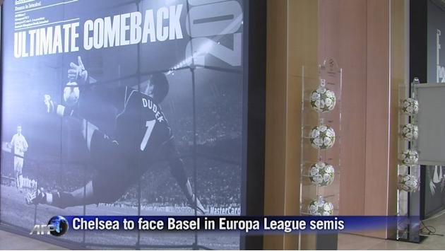 Chelsea to face Basel in Europa League