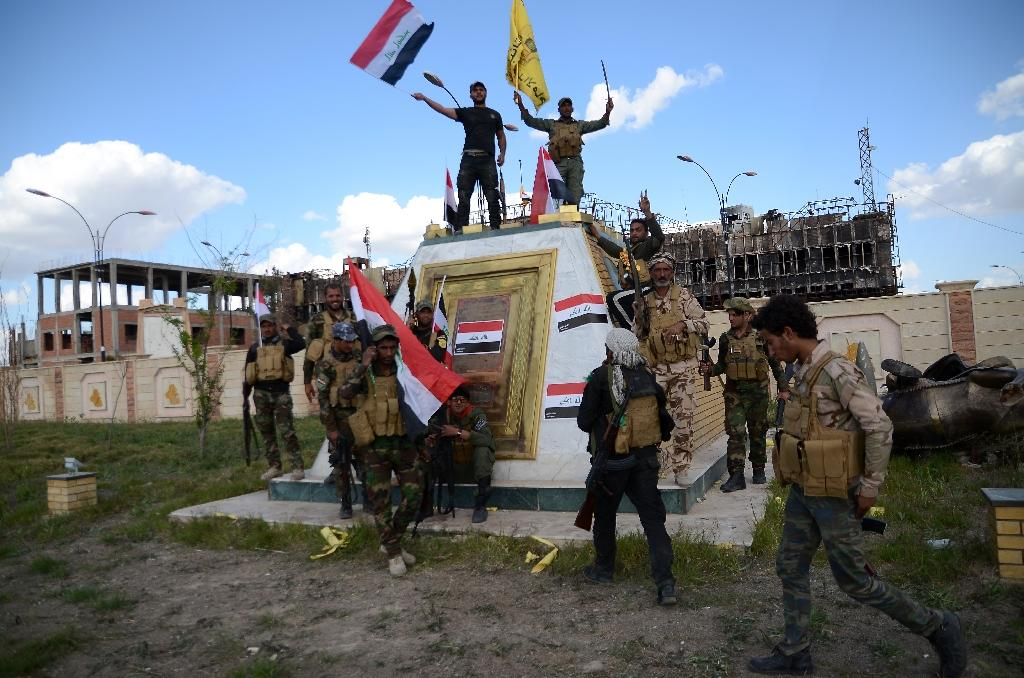 Iraq forces hunt diehard jihadists after Tikrit victory claim