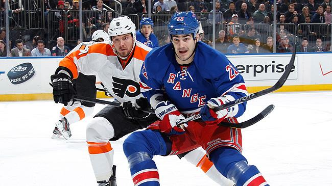 NHL 2013: Philadelphia Flyers vs. New York Rangers
