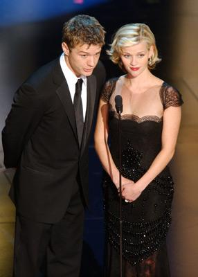 Ryan Phillippe and Reese Witherspoon 74th Academy Awards Hollywood, CA 3/24/2002