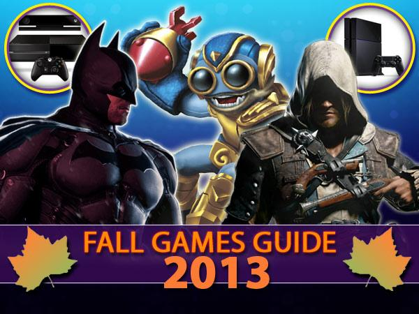 Fall Games Guide 2013