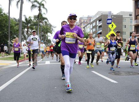 San Diego sees 92-year-old woman become world's oldest female marathoner