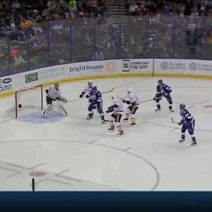 Pekka Rinne Save on Victor Hedman (01:05/2nd)