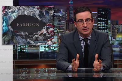 John Oliver's look at abusive clothing labor practices will make you want to go nudist