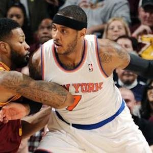 Melo, Amar'e Push Past The Cavs