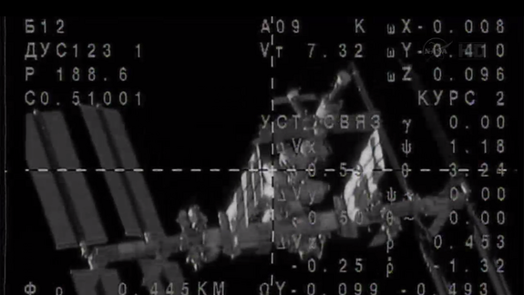 New US-Russian Crew Docks at Space Station After Super-Fast Flight