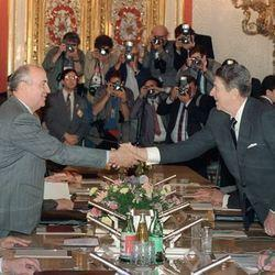 Ronald Reagan Would Not Have Allowed 47 Senators or Netanyahu to Influence Nuclear Negotiations with Gorbachev