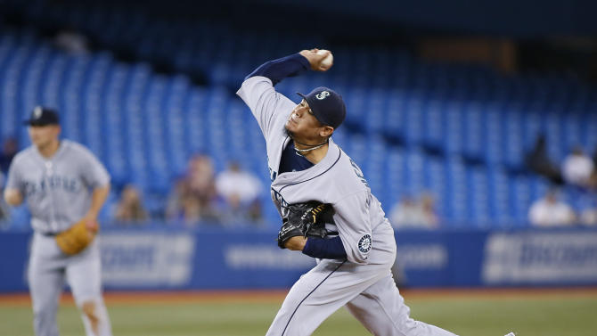 MLB: Seattle Mariners at Toronto Blue Jays