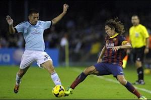Carles Puyol: Barca facing Man City at good time