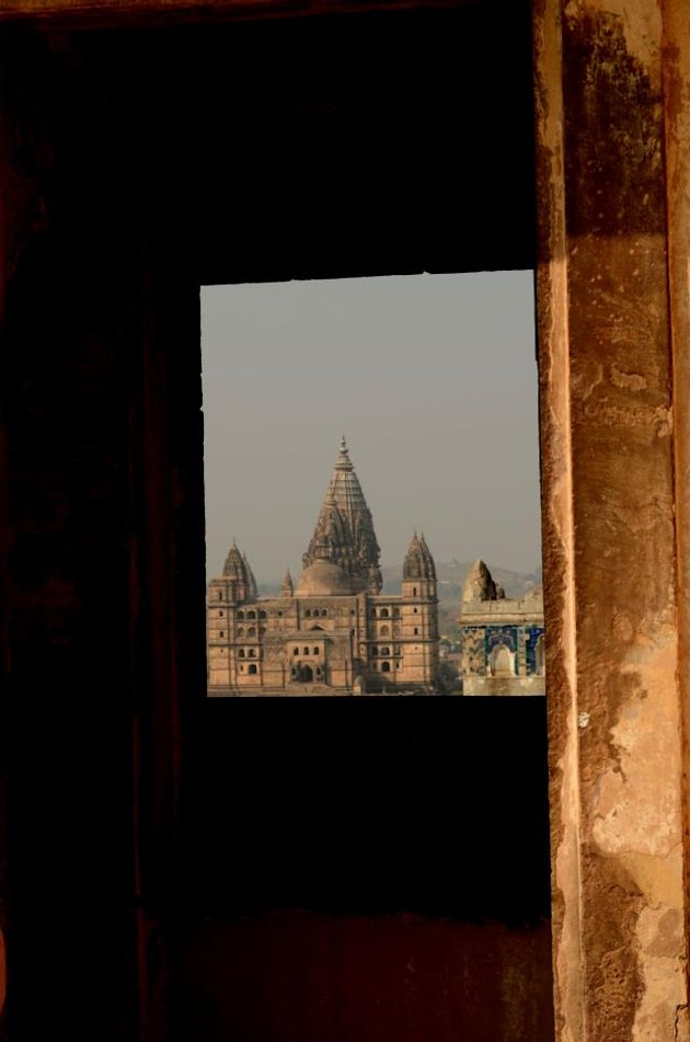 Orchha - from my hotel wi …