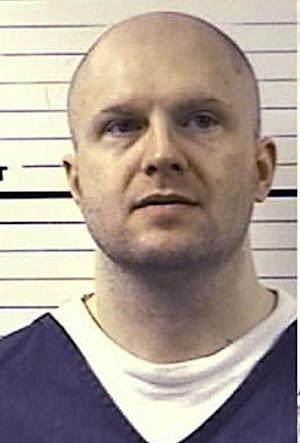 This undated photo provided by the Colorado Department of Corrections shows Troy Anderson, a mentally ill inmate in isolation at the Colorado State Penitentiary.  Anderson is too dangerous to be among other offenders.  His lawyers argued in court last week before a federal judge to fight for better medication for conditions said to lead to panic attacks. (AP Photo/Colorado Department of Corrections)
