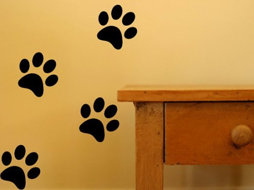 Pawprint Wall Decals