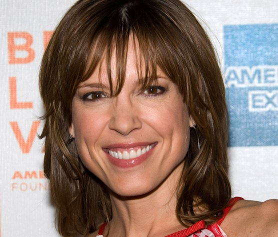 "FILE - In this Friday, April 23, 2010 file photo, Hannah Storm attends the premiere of ""Straight Outta L.A."" as part of the Tribeca Film Festival in New York. ESPN anchor Storm will return to the air on New Year's Day, exactly three weeks after she was seriously burned in a propane gas grill accident at her home. Storm suffered second-degree burns on her chest and hands, and first-degree burns to her face and neck. She lost her eyebrows and eyelashes, and roughly half her hair. (AP Photo/Charles Sykes, File)"