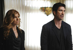 Connie Britton, Dylan McDermott | Photo Credits: Robert Zuckerman/FX