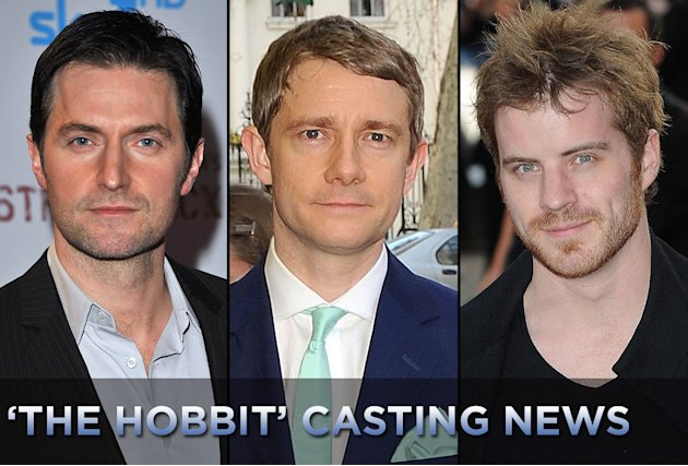 The Hobbit Casting News 2010 Title Card