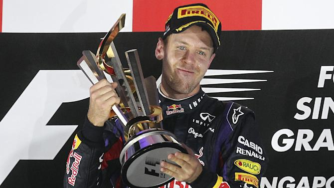 Vettel laughs off F1 cheating allegations