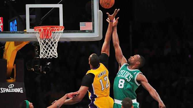 NBA: Boston Celtics at Los Angeles Lakers