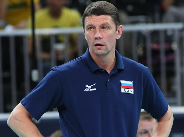 Former Russian women's volleyball coach Sergey Ovchinnikov &#x2014; Getty