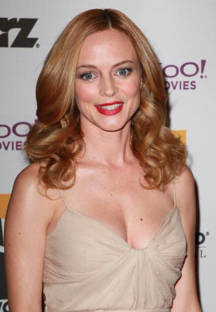 Heather Graham attends the 14th annual Hollywood Awards Gala at The Beverly Hilton Hotel in Beverly Hills on October 25, 2010  -- Getty Images