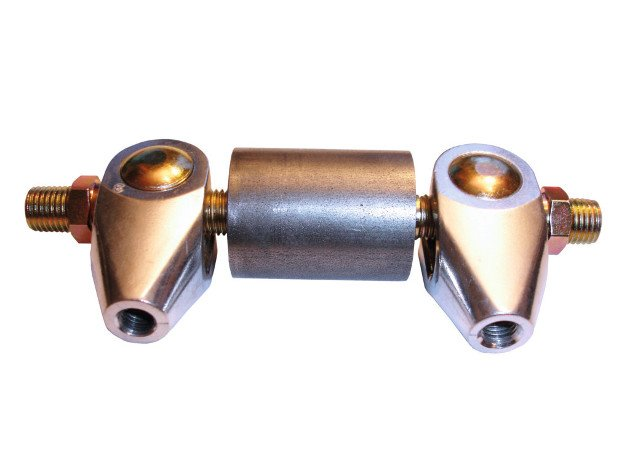 The brake balance bar's determined pressure controls the amount of pressure for the front and rear brakes accordingly.