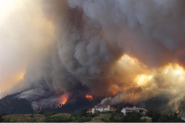 incendio en colorado