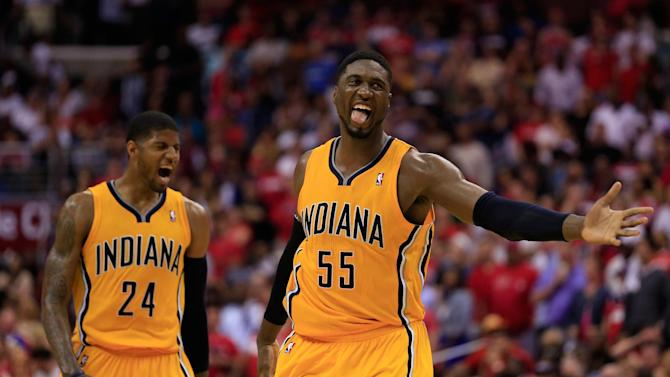 George's 39 lead Pacers past Wiz 95-92; 3-1 lead