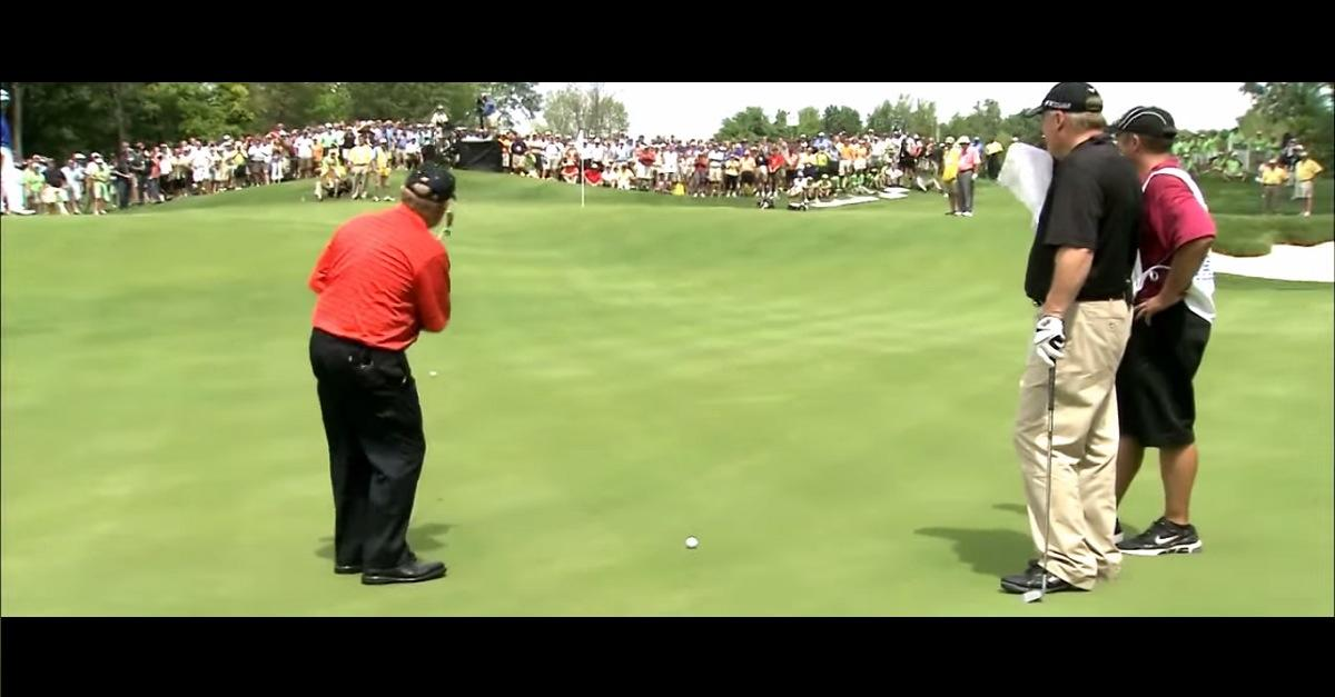 Insane 102 Ft Golf Putt! (You Won't Believe This)