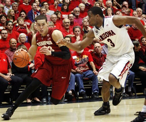 No. 7 Arizona grinds out 73-66 win over Stanford