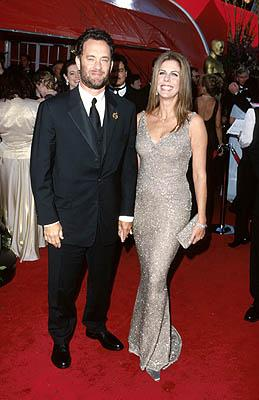 Tom Hanks and Rita Wilson 71st Annual Academy Awards Los Angeles, CA 3/21/1999