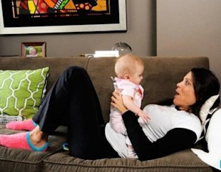 Bethenny Frankel with daughter Bryn. (Photo: Bravotv.com))