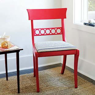 Choose chairs with interesting frame details
