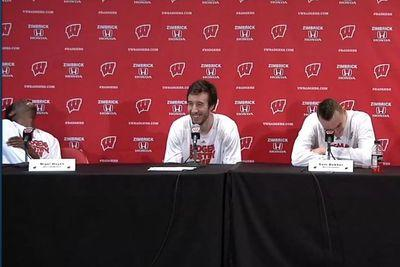 Wisconsin player insists 'all we care about is our suckoffs'