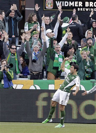 Timbers rally for 3-3 draw with Red Bulls