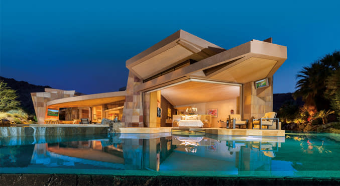 Jerry Weintraub's Palm Desert Contemporary Goes Up For Sale