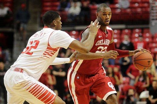 Pledger leads Oklahoma past Texas Tech, 86-71