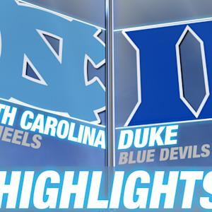 North Carolina vs Duke | 2014-15 ACC Women's Basketball Highlights