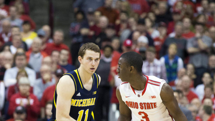 NCAA Basketball: Michigan at Ohio State