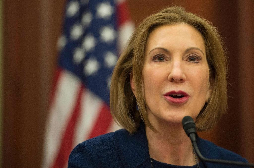 Former HP chief Fiorina in near certain 2016 bid