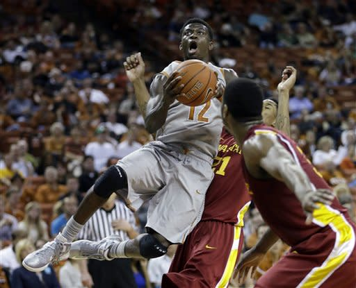APTOPIX Iowa St Texas Basketball