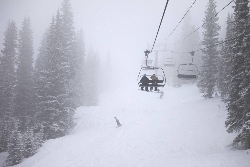 Man who pushed snowboarder off chairlift arrested