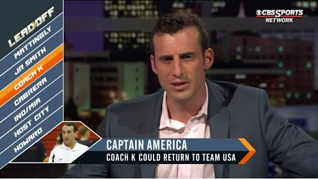 Coach K to lead Team USA?