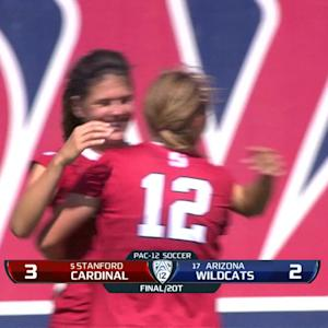 Recap: No. 5 Stanford women's soccer gets OT win over No. 17 Arizona