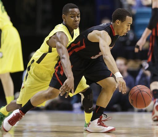 Oregon beats Utah 64-45 in Pac-12 semifinals