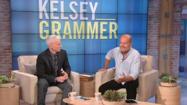 Anderson Cooper interviews Kelsey Grammer on 'Anderson Live,' Sept. 26, 2012 -- Anderson