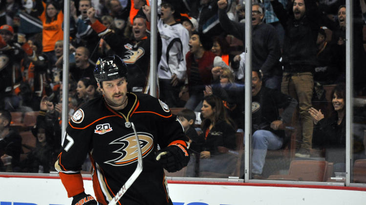 NHL: Buffalo Sabres at Anaheim Ducks