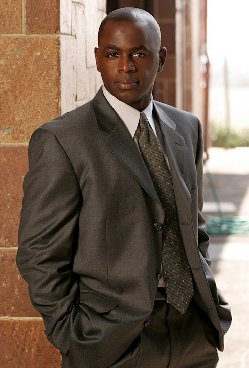 Alimi Ballard stars as David Sinclair in Numb3rs on CBS.