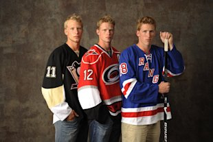 Marc, Jordan & Eric StaalMarc, Jordan and Eric Staal are