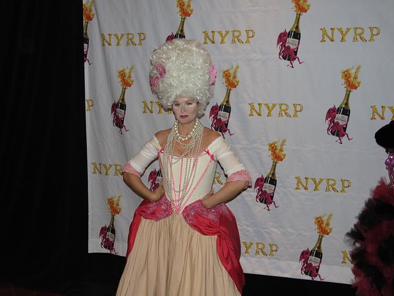 Debra Messing as Marie Antoinette